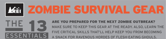 REI - Zombie Survival Guide