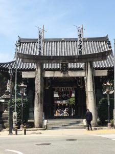 櫛田神社8月
