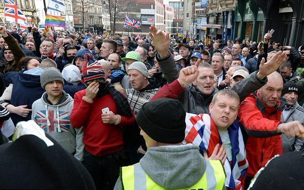 Israeli Flags and Swastikas Abound at Rallies of PEGIDA, Europe's Anti-Muslim Neo-Fascist Movement