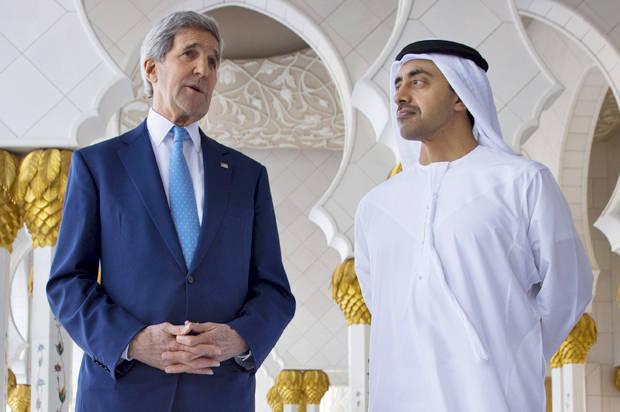 "Brutally bombing Yemen is helping ""accomplish significant progress,"" according to Secretary Kerry"