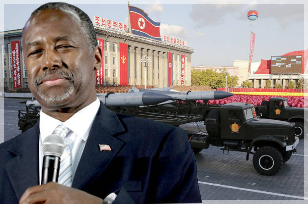 Ben Carson blasted North Korea for spending more on the military than the hungry. Has he looked at his own country?