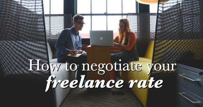 Negotiating freelance rates with clients