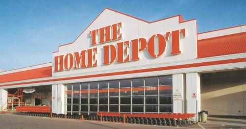 Medium Of Home Depot Colma