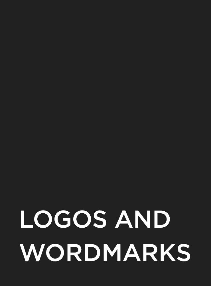 Various logos and wordmarks