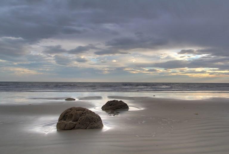 Neuseeland Moeriaki Boulders