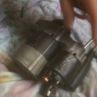 W168セルモーター,W168修理