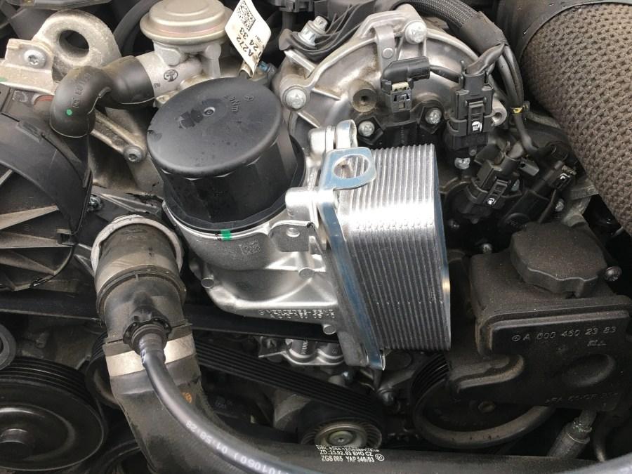 M272エンジン特有のオイル漏れを修理