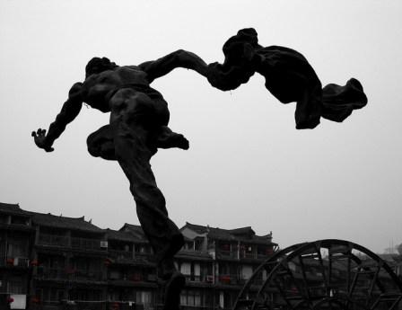 Running Man by Robert Baxter
