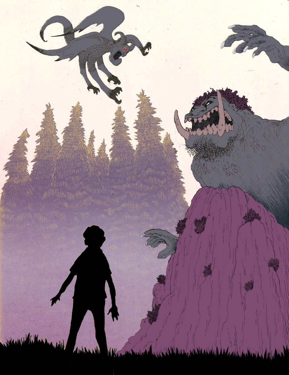 Another interpretation of the Gargoyle vs. Troll scene in The Camelot Kids: Part One