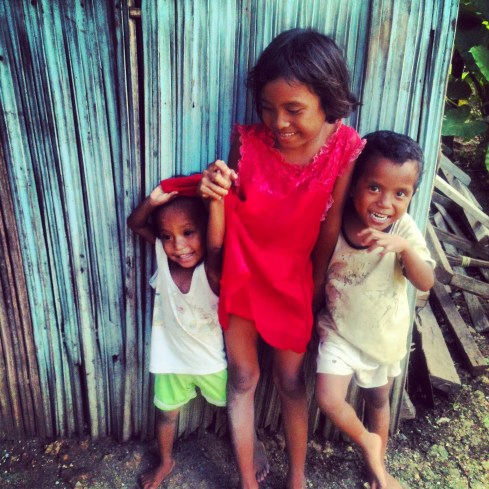 The kids in Kupang.