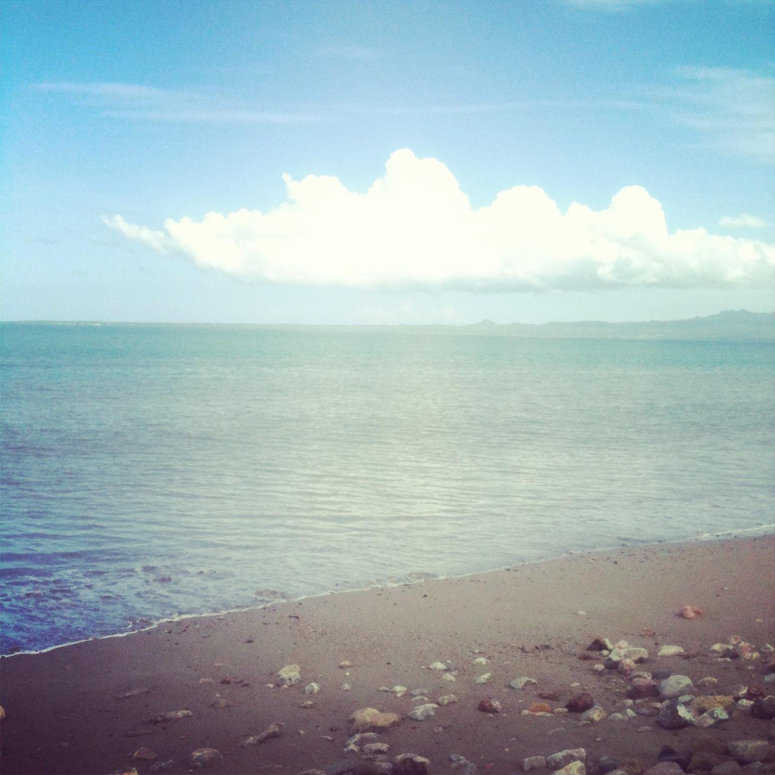 Lasiana beach in Kupang.