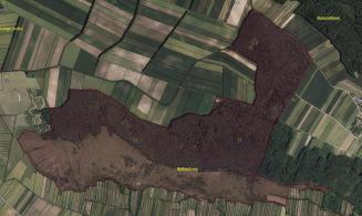 Übersicht des Naturschutzgebietes Spitzerberg in Prellenkirchen