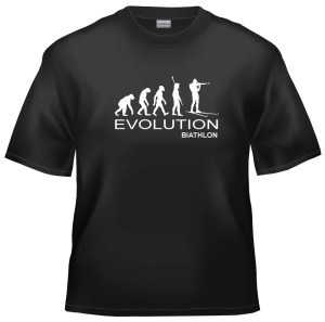 Evolution biathlon t-shirt