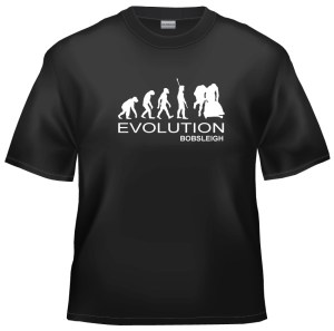 Evolution bobsleigh t-shirt