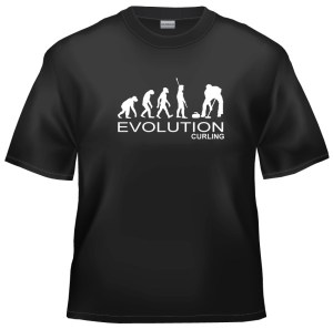 Evolution Curling t-shirt