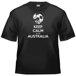 2014 World Cup Football - Keep Calm We Are Australia t-shirt