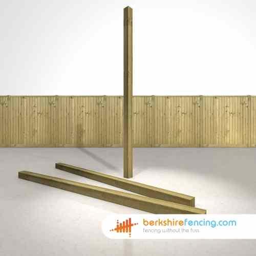 Medium Crop Of Wooden Fence Post
