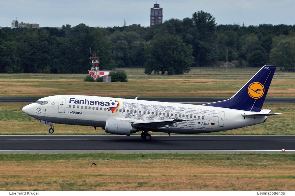 Lufthansa Boeing 737-300 D-ABEK