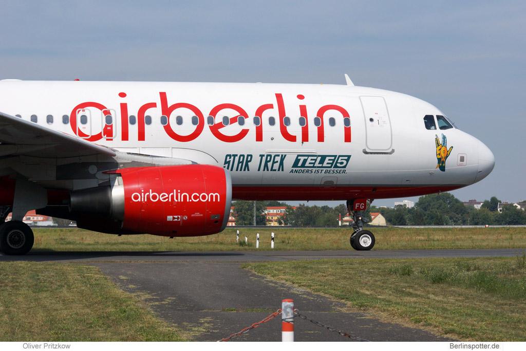 Air Berlin Airbus A320-200 D-ABFG