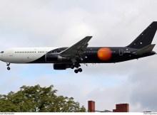 Titan Airways Boeing 767-300ER G-POWD (Berlin TXL 14.8. 2016)