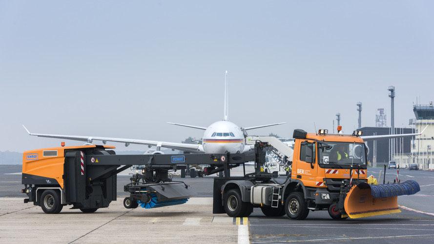 Airports bereit für den Winter