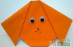 origami anjing