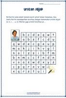 urutan abjad - kartini