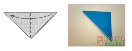 Membuat Origami Berbentuk Kuda b