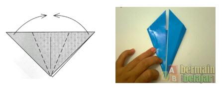 Membuat Origami Berbentuk Kuda d