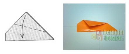 Membuat Origami Ikan e