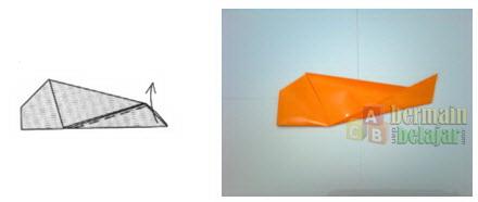 Membuat Origami Ikan f