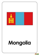 Bendera Mongolia