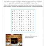 Lembar Permainan Tema Haji dan Idul Adha