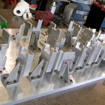 Testing fixture for automotive applications
