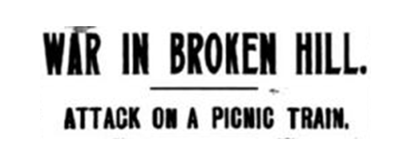 War in Broken Hill