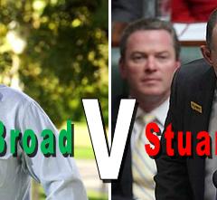 Andrew Broad's courage & Stuart Robert's homophobia