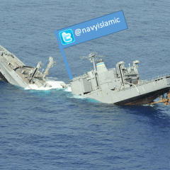 Pro-Islamic, anti-Australian Liberty Alliance Navy Twitter account shut down