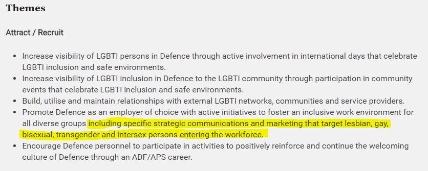 Defence Diversity