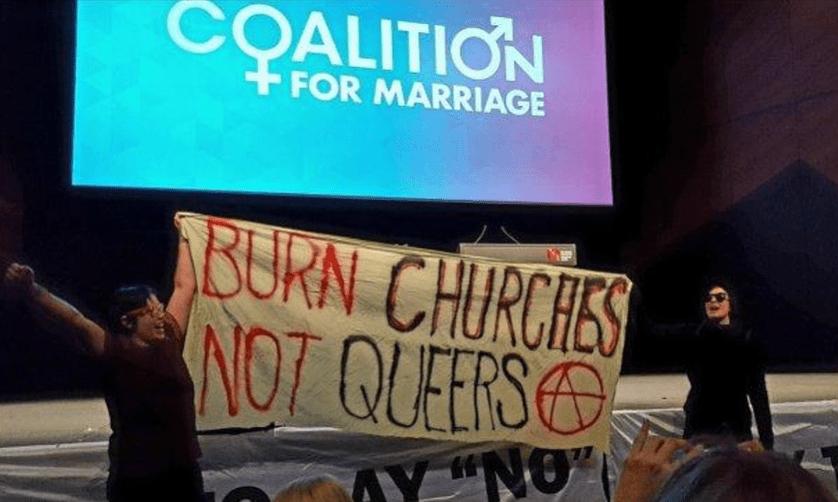 Burn churches