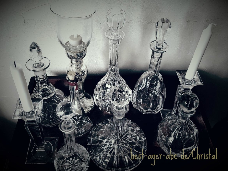 Karaffen Kristall