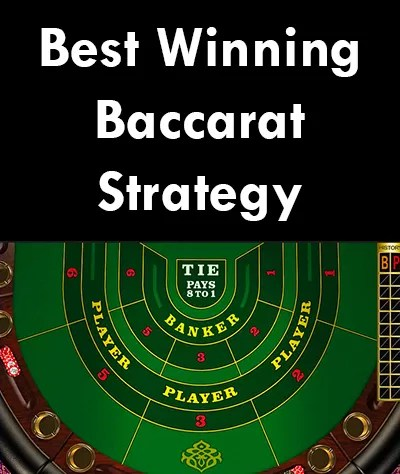 baccarat strategy to win