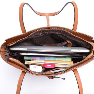 Large enough for a laptop, but the middle compartment protects your tablet as well.