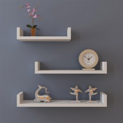Small Crop Of Hanging Shelves Wall