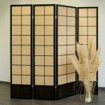 Stellwand Paravent Bambus B0095GKZ1O