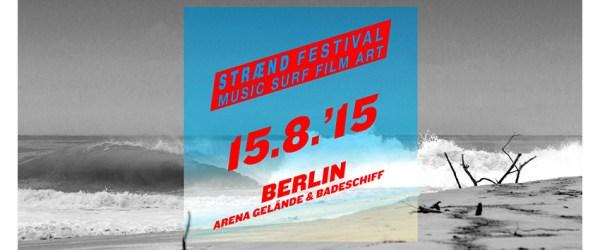 straend festival Aufmacherbild mit Logo