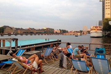 Straend Festival auf dem Badeschiff