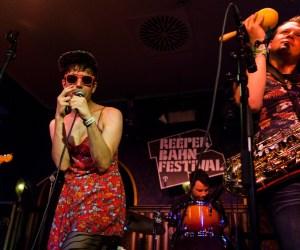 Reeperbahn Festival 2014, Angie's Nightclub, Ezra Fuhrman & The Boyfriends c Nina Zimmermann