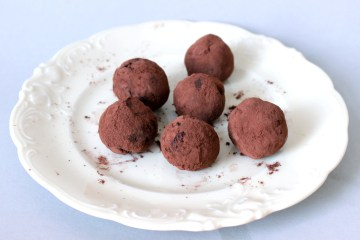 Vegne Schokoladenpralinen