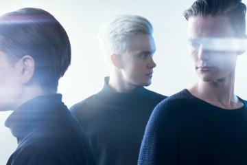 Vök isländischer Trip Hop Dream Pop Promo Foto des Trios