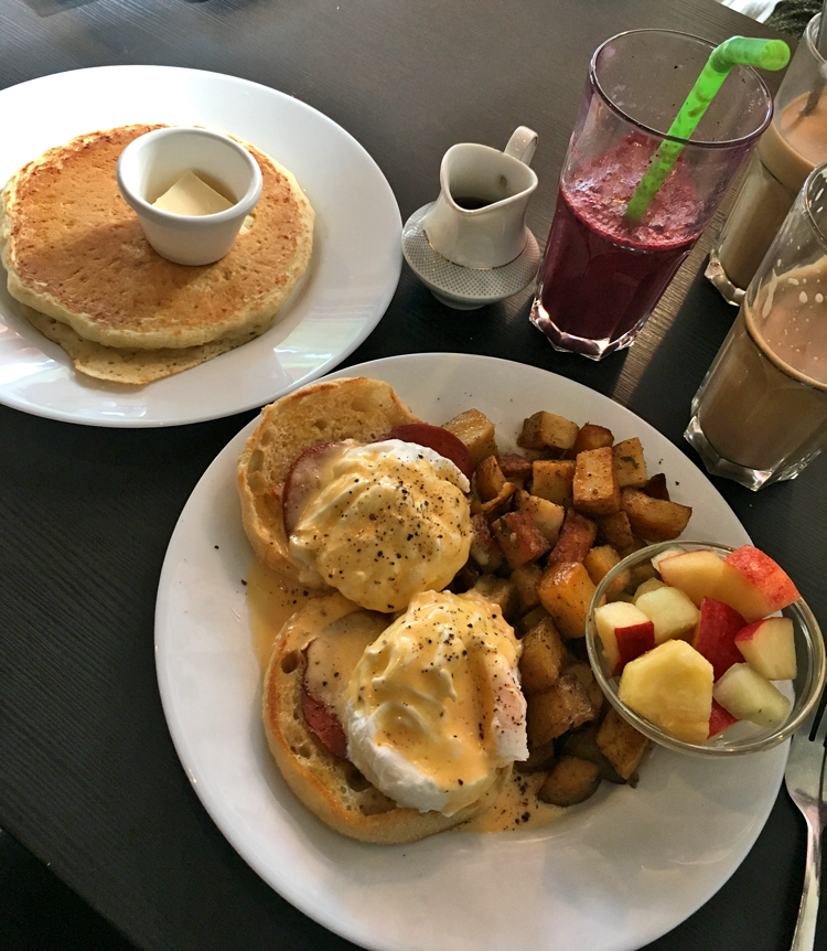 Frühstück im Mamalicious in Hamburg